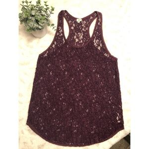 Wilfred Madeline lace tank